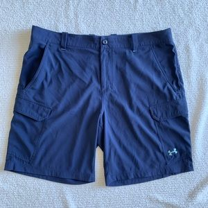 Under Armour Loose Fit Heat Gear Cargo Shorts